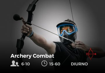 Archery Combat - future is nature playground