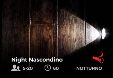Night Nascondino - future is nature playground