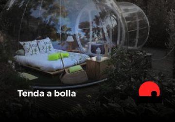 tenda a bolla - bubble hotel - future is nature playground
